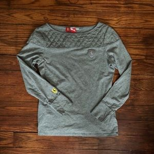 Officially Licensed Ferrari Puma Quilted Shirt